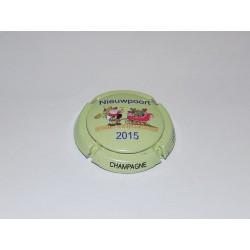 "CAPSULE DE CHAMPAGNE - LEJEUNE DEL'HOZANNE ""Nieuwpoort 2015"""