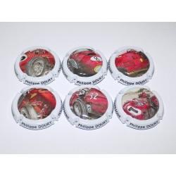 SERIE DE 6 CAPSULES DE CHAMPAGNE - PHILIPPE DOURY + 1 série Générique