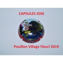 capsule de champagne PHILIPPE DOURY (Pouillon Fleuri 2019)