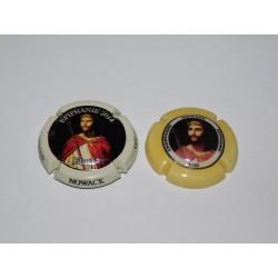 2 CAPSULES DE CHAMPAGNE - NOWACK N°53.b et 53.c en Porcelaine