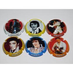 Série de 6 capsules de champagne - NOWACK LAYOUR (Elvis Presley) N°14