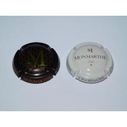 2 CAPSULES DE CHAMPAGNE - MONMARTHE N°13 et 15