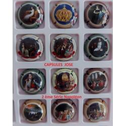 2 ème Série de 12 capsules de champagne - ARMAND BRUNO (Napoléon)