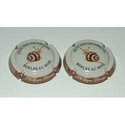 2 CAPSULES DE CHAMPAGNE - DOURY PHILIPPE (Fete des escargots)