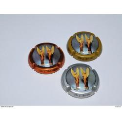 Série de 3 capsules de champagne - MARINA.D N°98
