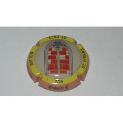 CAPSULE DE CHAMPAGNE - OUDARD.F  N°7 cercle jaune