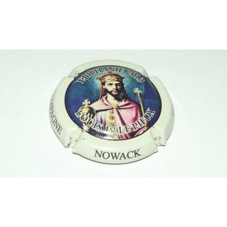 CAPSULE DE CHAMPAGNE NOWACK (Louis 1er le Pieux)